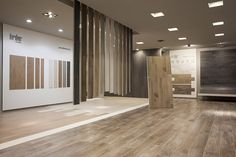 Our wood collections on show: Porcelainwood and French Woods