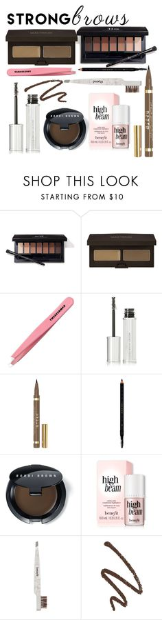"""Well-groomed: perfect brows"" by northern-queen ❤ liked on Polyvore featuring beauty, Laura Mercier, Tweezerman, Givenchy, Stila, Gucci, Bobbi Brown Cosmetics and Benefit"