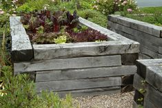 Raised beds are great for growing vegetables, fruit and flowers and are especially useful if your soil is wet or poorly-drained. They're also handy for gardeners with bad backs, as they minimise bending down. Community Gardening, Building A Raised Garden, Diy Herb Garden, Pine Garden, Types Of Soil, Growing Vegetables, Garden Features, Garden Design, Garden