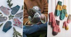 13 idées pour tricoter des moufles et gants