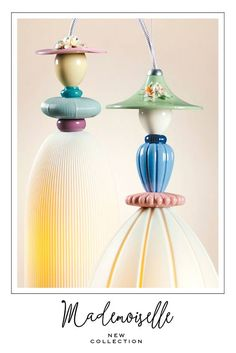 Mademoiselle New Collection by @lladro for #Euroluce2015 #mialn #iSaloni #lightingspain