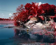 """Saatchi Art Artist Ed Thompson; Photography, """"After the flood, after the Red River Vallery. From The Unseen: An Atlas of Infrared Plates - Limited Edition 1 of 12"""" #art"""