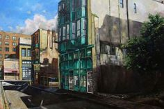 2014 chinatown  shanghai alley 48x36 canvas   2860