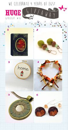 Etsy Greek Street Team: 4 years EGST!!! HUGE GIVEAWAY CELEBRATION!!!  gifts group #6
