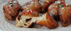 Chanukah Fritters (Frittelle di Chanukah) with Figs and Sambuca Honey - Jewish Food Experience