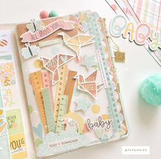 bacbba9023b01 630 Best Baby Scrapbooking Layouts images in 2019 | Scrapbooking ...