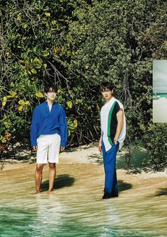 [SCAN] Allure korea with #Minho #Onew #onho in Maldive