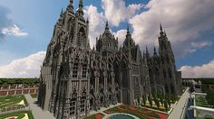Ecclesia darii | Castle | Minecraft Building Inc