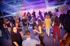 Premex party within a clear span marquee as provided by Elite Marquees.