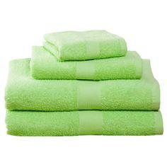 Kiwi Four-Piece Cotton Towel Set  $19.95