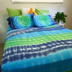 Pleasant Dreams Tie-Dyed Sheet Set