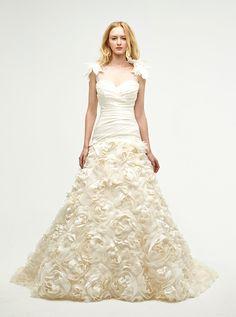 アクア・グラツィエがセレクトした、JENNY LEE(ジェニー リー)のウェディングドレス、JLE1416をご紹介いたします。