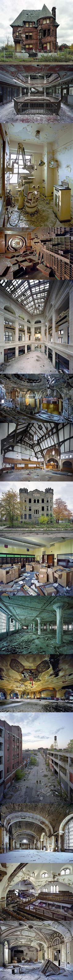 Detroit is a ghost city