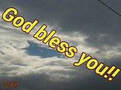 God bless you! !