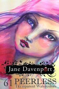 Peerless Watercolors - Jane Davenport Artomology Set