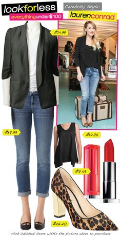 riches for rags: Celebrity Look for Less: Lauren Conrad