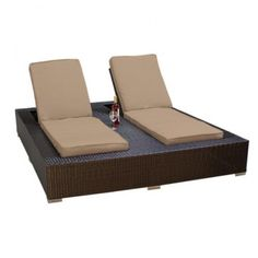 Enjoyable Signature Round Double Chaise Lounge Great Clothes Beatyapartments Chair Design Images Beatyapartmentscom