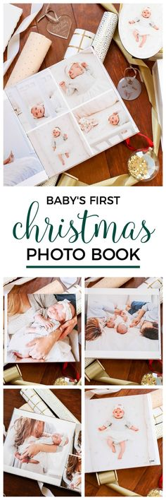 How to create a custom photo book for baby's first Christmas! Click through to see the best personalized Christmas gift ideas for everyone on your list with Shutterfly and Orlando, Florida lifestyle blogger Ashley Brooke Nicholas! #shutterfly sponsored by Shutterfly   Christmas gift ideas, personalized gift ideas, monograms, monogrammed, monogrammed gifts, photo books, baby's first christmas, Santa sack, flocked Christmas tree, Christmas gift ideas, unique gift ideas, newborn photos