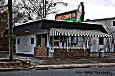 edd's drive-in Pascagoula, Mississippi. Supposed to have the best Chili Cheese Hamburgers in the the world.