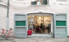 in Gulpd having Lattes and Budvars Garage Doors, Studio, Outdoor Decor, Ice, Cold, Home Decor, Studios, Ice Cream, Interior Design