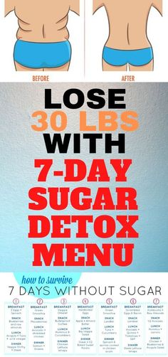 Try this great sugar detox plan and loose weight in no time. 7 Day Sugar Detox, Sugar Detox Plan, Healthy Habits, Healthy Tips, Healthy Drinks, Healthy Foods, Cancer Cure, Colon Cancer, Prostate Cancer