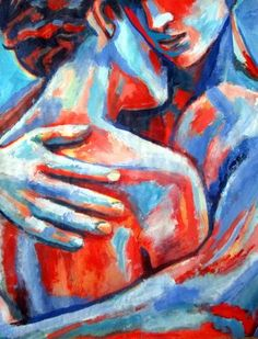 View Helena Wierzbicki's Artwork on Saatchi Art. Find art for sale at great prices from artists including Paintings, Photography, Sculpture, and Prints by Top Emerging Artists like Helena Wierzbicki. Couple Painting, Love Painting, Painting Abstract, Acrylic Paintings, Arte Latina, Molduras Vintage, Romantic Paintings, Paintings Of Couples, Portrait Art