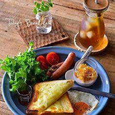 Cafe Food, Food N, Good Food, Food And Drink, Yummy Food, Japanese Menu, Food Photo, Breakfast Recipes, Clean Eating