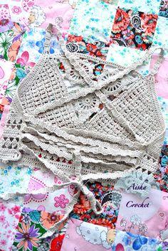 Crochet top boho Aisha crochet