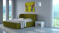 Łóżko i szafka nocna Flexi