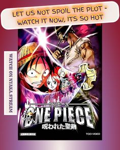 Watch One Piece Movie 5: The Curse of the Sacred Sword Anime Online for Free without any obnoxious ads of any kind. Streaming subs and dubs for your pleasure since forever!