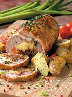 Greek Recipes, Baking Recipes, Yummy Recipes, Food To Make, Pork, Turkey, Yummy Food, Lunch, Meat