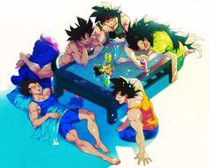 Saiyan bachelor pad [ Swordnarmory.com ] #anime #manga #swords