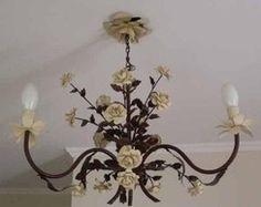 Lustre Artesanal Bouquet - 3 Braços