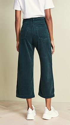 397cb9155a Edwin Leti Belted Wide Wale Corduroy Pants 90s Outfit