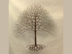 "Explore our site for even more relevant information on ""metal tree sculpture"". It is actually an exceptional place for more information. Wire Wall Art, Metal Tree Wall Art, Metal Art, Wire Tree Sculpture, Wall Sculptures, Sculpture Art, Tree Of Life Jewelry, Wire Trees, Beads And Wire"