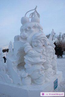 Sneeuwsculpturen 26
