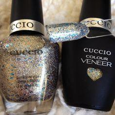 """Cuccio Colour Veneer """"Surprise"""" gel swatch"""