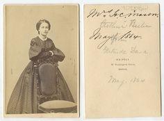 CIVIL WAR ERA LADY MRS H.C. MASON?, BOSTON, MA, WHIPPLE 1864 CDV STUDIO PORTRAIT in Collectibles, Photographic Images, Vintage & Antique (Pre-1940) | eBay