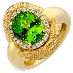 Frederic Sage Peridot Ring