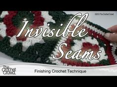 This tutorial will show you how to get invisible seams so you can put granny squares together, flat panels, clothing garments and more. Watch how to get rid ...