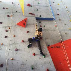 Wall Climbing at PeaktoPeak Indoor Climbing Alam Sutera, Indonesia.