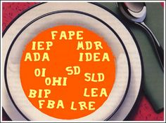 15 education acronyms that parents and teachers of students with disabilities need to know for 2015 - by Learning Ally Program Support Manager and former special education teacher Lindsey Lipsky, M.Ed. (Image: Alphabet soup spelling out education acronyms)