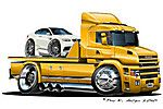 scania-t-cab3 Truck Art, Tow Truck, Big Trucks, Flatbed Towing, Towing Company, Trailers, Car Sketch, Car Humor, Custom Trucks