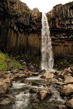 Svartifoss - Waterfall, Iceland