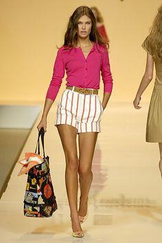 Salvatore Ferragamo Spring 2007 Ready-to-Wear Fashion Show - Bianca Balti