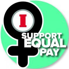 Tomorrow is Equal Pay Day! Show your support for closing the #wagegap by repinning!