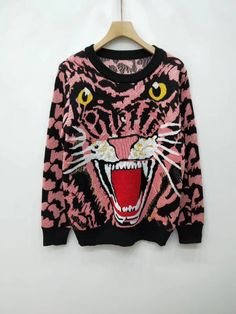 85325925 Indie Designs Lurex Wool Tiger Sweater – Indie Designs Clothing Indie, Men  Sweater, Graphic
