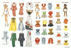 Store Marie paper doll | Paper dolls