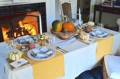 Thanksgiving Tablescapes, Welcome To The Party, Table Arrangements, Seasonal Decor, Different Styles, Table Settings, Entertaining, Table Decorations, Autumn
