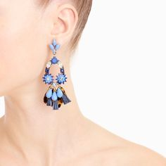 Crystal fete earrings